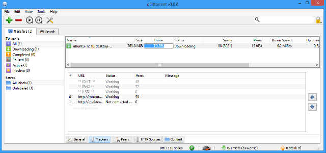 qBittorrent - multiplatform torrent client