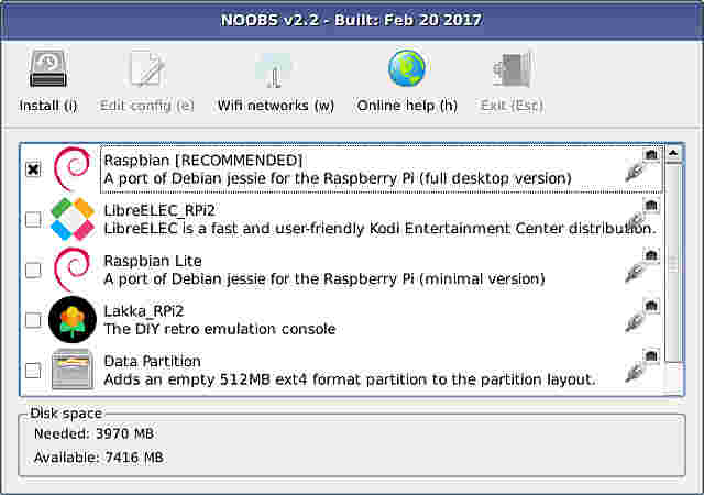 Raspberry pi noobs fast download